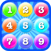 Addition & Multiplication Number Bubbles icon