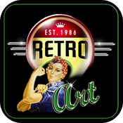 Retro Art - Vintage Posters, Pinups and Advertisements icon