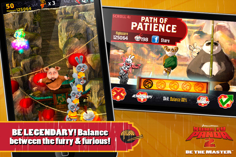 Kung Fu Panda: Be The Master v1.3.2 Игры для iPhone/iPod Touch/iPad.