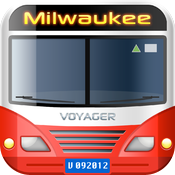 vTransit - Milwaukee public transit search icon