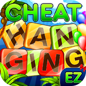 Hanging with free EZ Cheats – auto cheat with OCR for Hanging With Friends game icon
