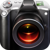 Big Camera Button - Tap anywhere to take a photo icon