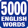 5000 most frequently used English words (Hungarian, German, Italian version)
