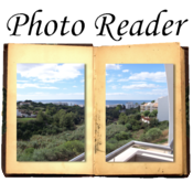 PhotoReader - read your photos like a book! icon