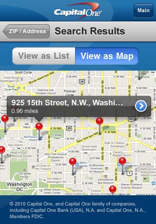 Capital One Mobile Banking screenshot 5