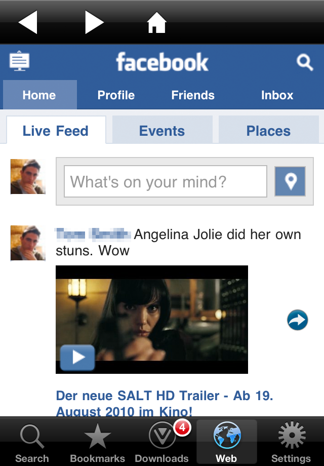 VideoGet for Facebook LITE - Video Player Downloader  Download Manager