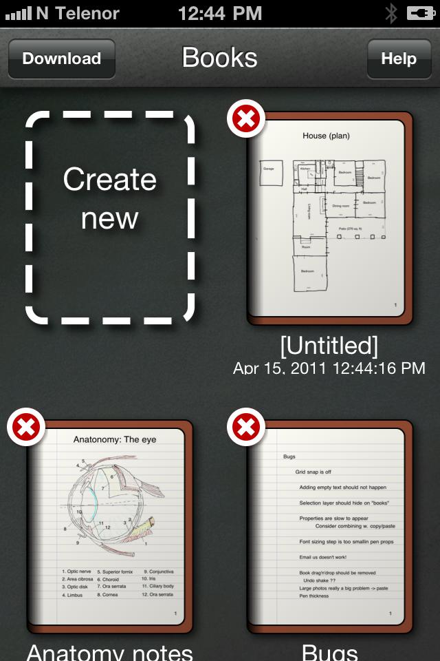 pen and paper app help