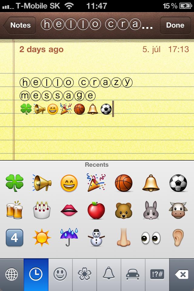 Symbols Emoji Icons Facebook Twitter Instagram Sms By Pavel