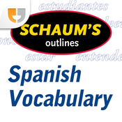 Schaum's Outline of Spanish Vocabulary Companion by PlaySay icon