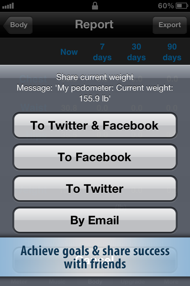 Pedometer FREE screenshot 4