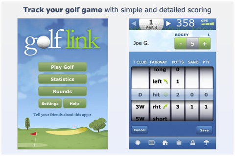 GolfLink App Offers Fantastic Features at a Low Price