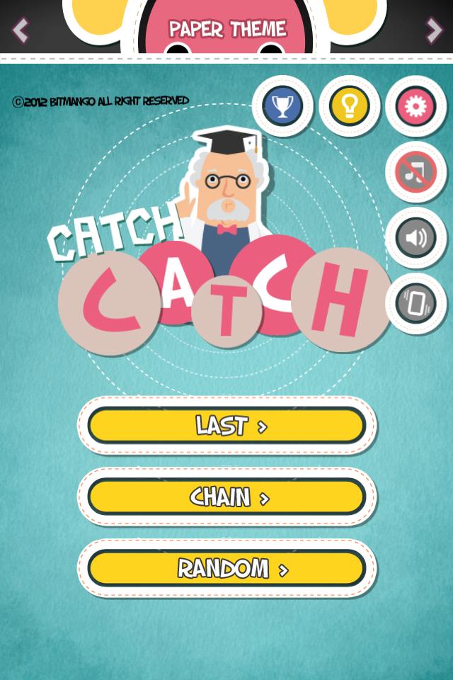 CatchCatch - Memory