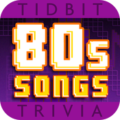 '80s Song Lyrics - Tidbit Trivia icon