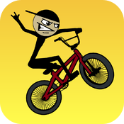 Stickman BMX HD Free icon