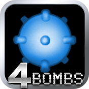 MineSweeper - 4 Bombs Logic icon