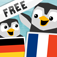 LinguPingu FREE - Français Allemand / Deutsch Französisch - children learn languages