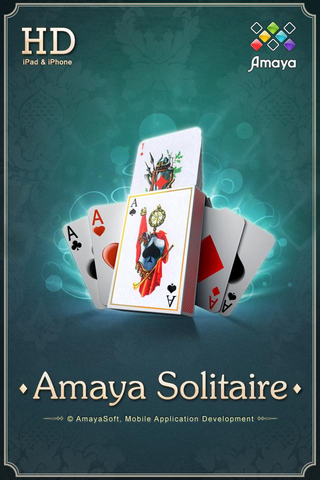 Amaya Solitaire (Spider, Klondike, Free Cell) screenshot 1