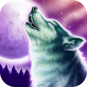 Wolf Moon casino slot game icon