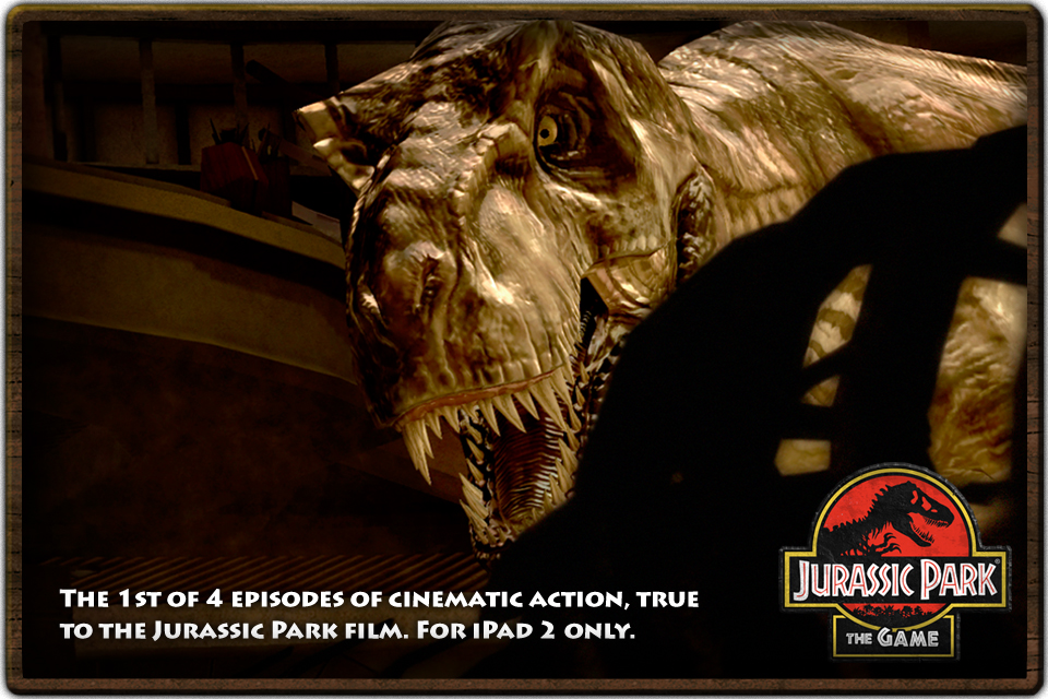 Free Jurassic Park (iPad) iPhone Game