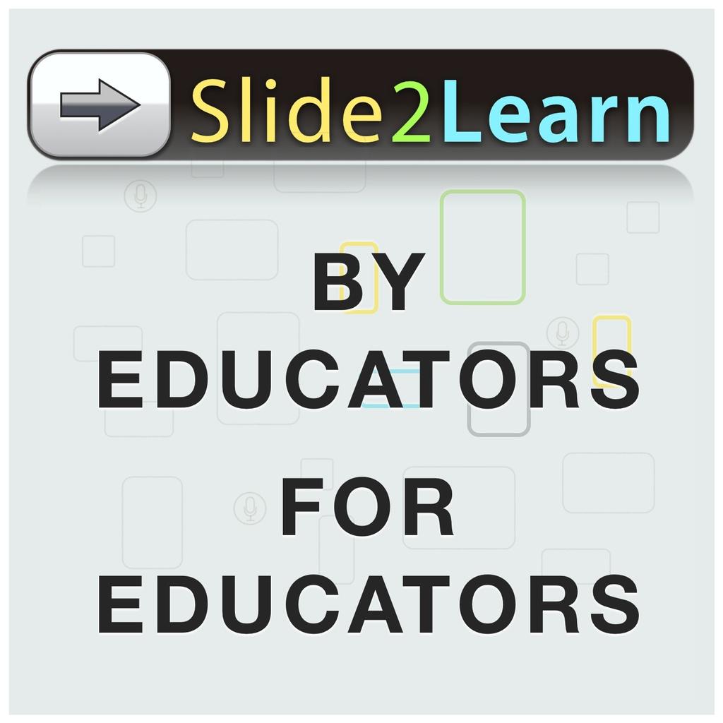 Slide2Learn
