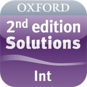 Solutions 2nd edition Intermediate Words icon