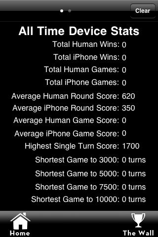10,000 Lite (A Game of Farkle)