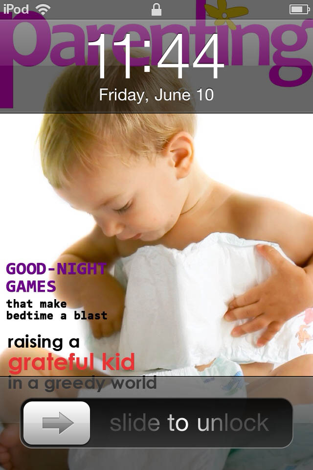 Image of Lock Screen Designer Free for iPhone