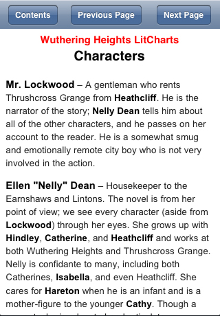 character analysis of lockwood in wuthering heights