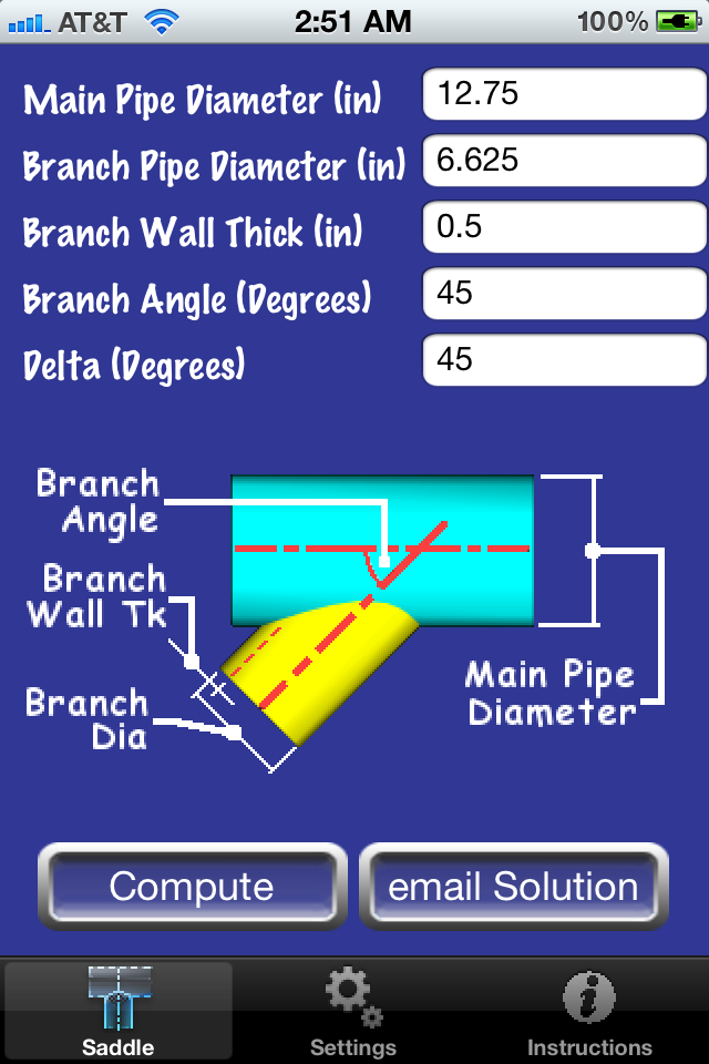 pipe saddle layout calculator  iphone productivity apps  by jean, wiring diagram