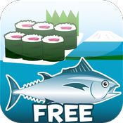 Sushi Fishing Free icon