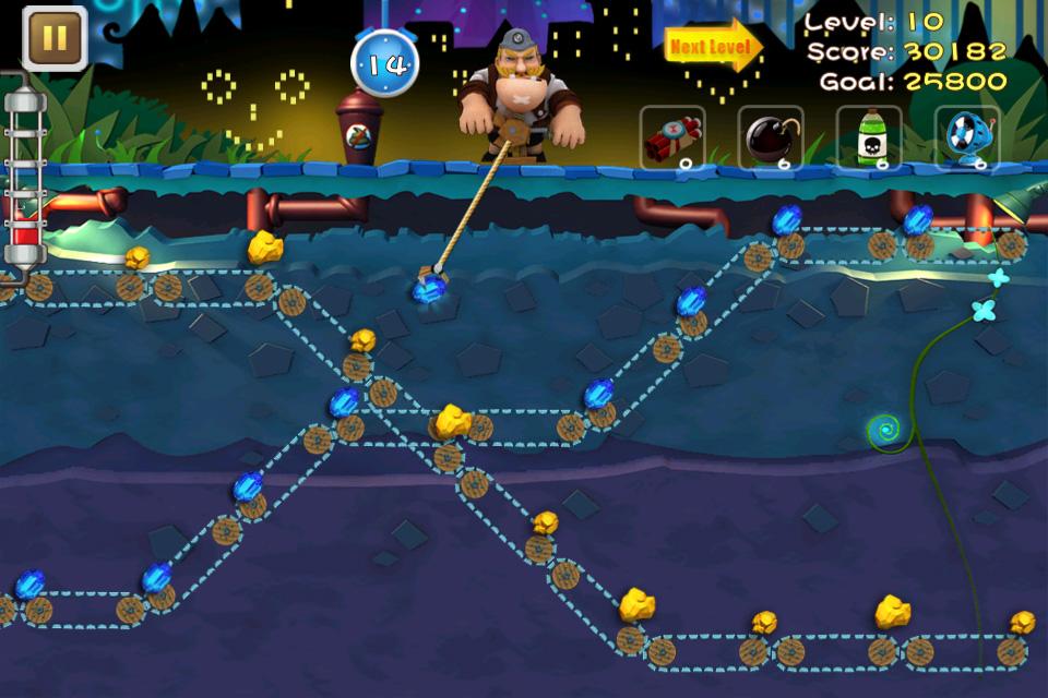 gold miner 2 player full screen