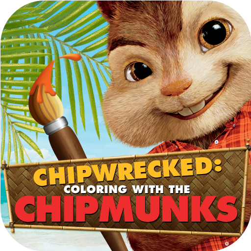 Chipwrecked: Coloring with the Chipmunks for iPad