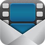 Video (& Photos) Email For iPad icon