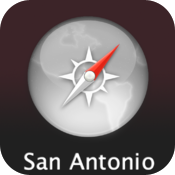 San Antonio Travel Map (USA) icon