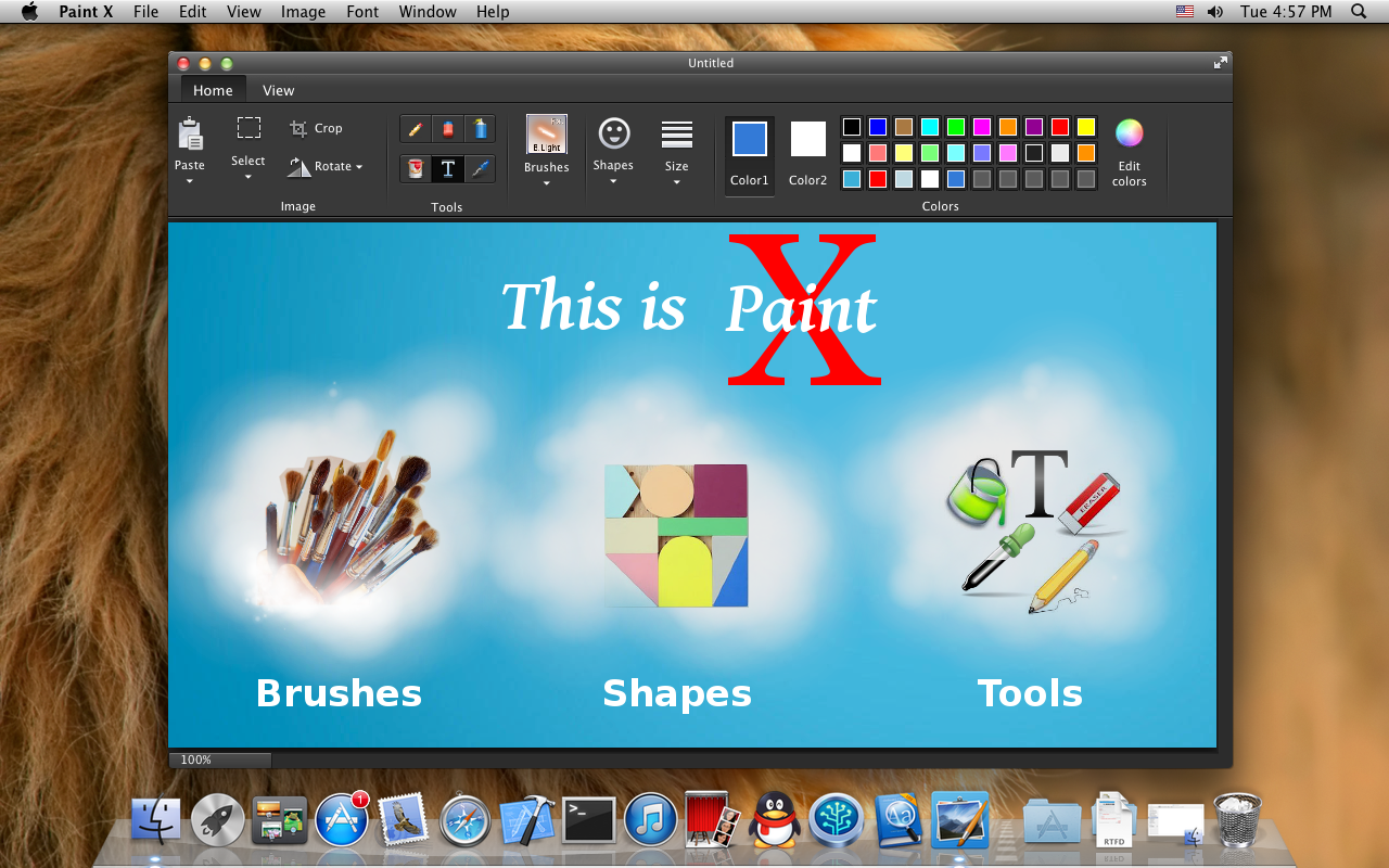 Free App The Classic Graphics Painting Program Paint X