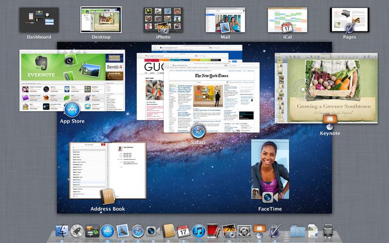 苹果Mac OS X Lion 正式发布