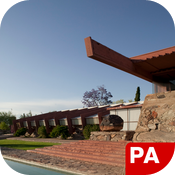 Frank L. Wright – Taliesin West icon