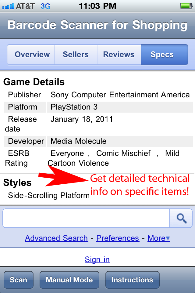 Barcode Scanner Shopping screenshot 5