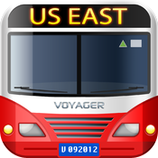 vTransit - US East public transit search icon