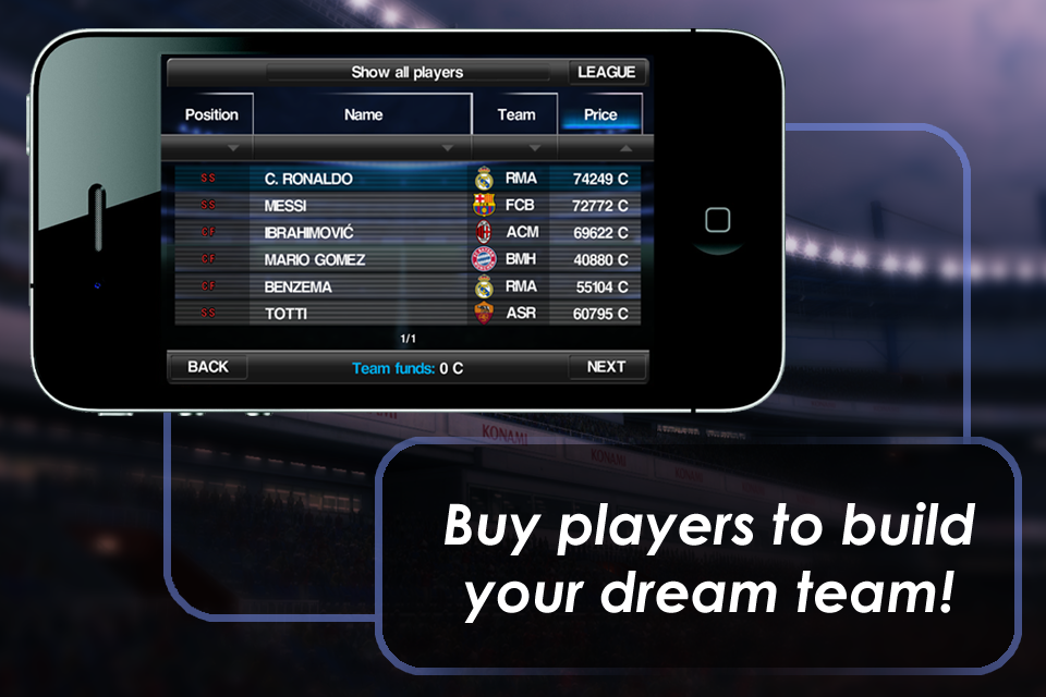 Image of PES 2012 - Pro Evolution Soccer for iPhone