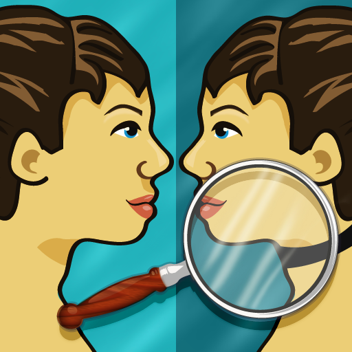 Just Spot It! Mirror Mirror HD - a Spot the Difference game