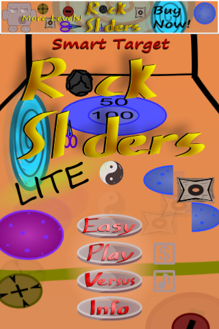 Smart Target (Rock Sliders Lite) Screenshot