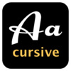 Cursive Font Kit for Mac