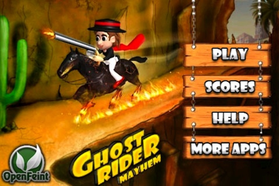 games ghost rider racing