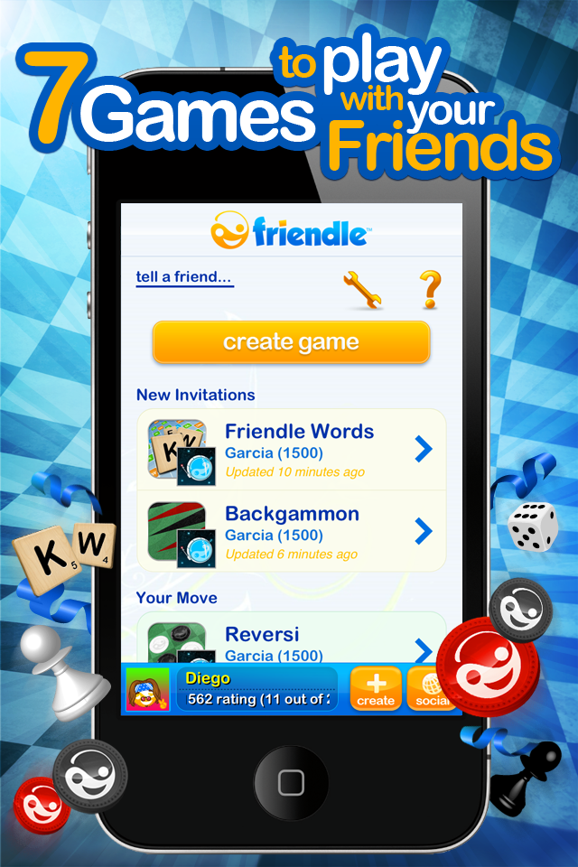 Friendle - 7 Games to Play with Your Friends