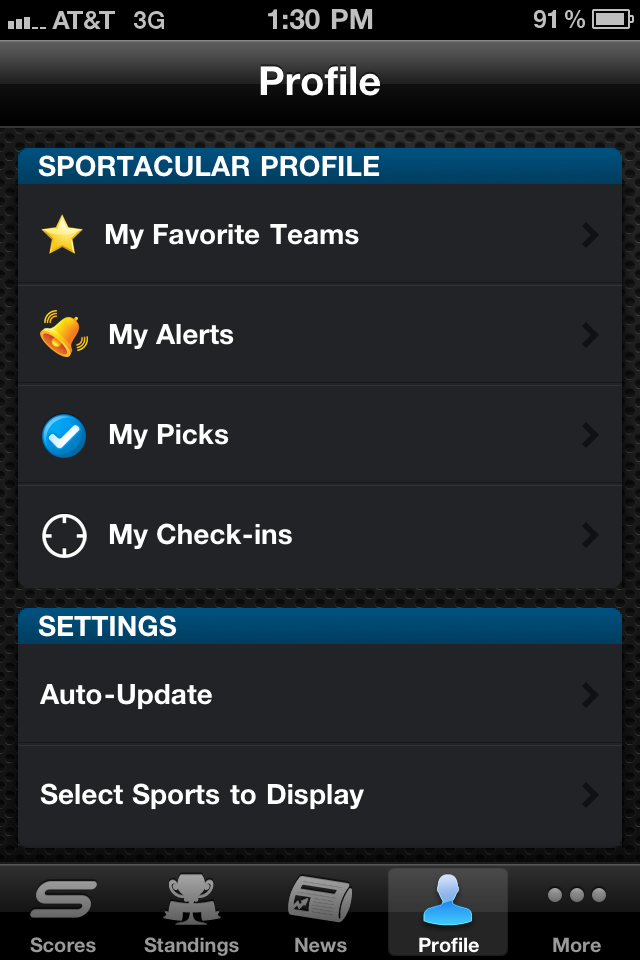 Yahoo! Sportacular Pro screenshot 5