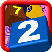 Digit Blocks - 3 in a row classic game. icon