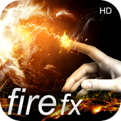 Abstract Fire Effect HD icon