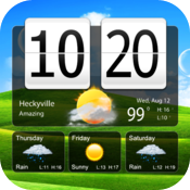 Awesome Live Weather Clock icon