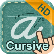 Cursive Writing HD icon
